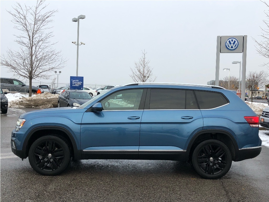 Certified Pre-Owned 2019 Volkswagen Atlas Highline 3.6L 8sp at w/Tip 4MOTION