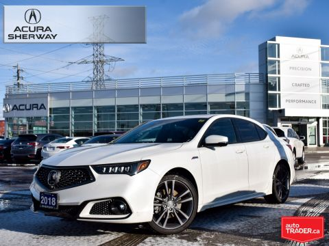 Certified Pre-Owned 2018 Acura TLX 3.5L SH-AWD w/Elite Pkg A-Spec