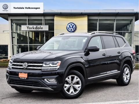 Certified Pre-Owned 2018 Volkswagen Atlas Highline 3.6L 8sp at w/Tip 4MOTION