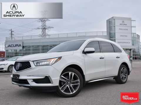 Certified Pre-Owned 2017 Acura MDX Navi